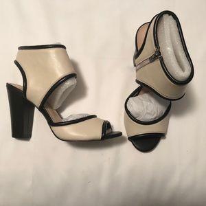 NWB Sole Society Gayle Sandal Block Heels